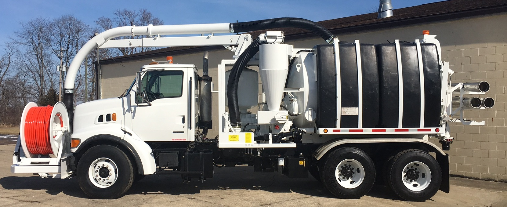 2000 Super Products Camel Combination Sewer Cleaner